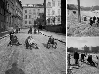 Veľký FOTOnávrat do 60-tych rokov! Sánkovačka v centre Bratislavy a kalamita na východe