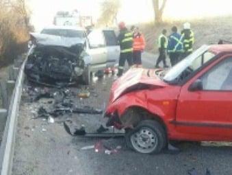 FOTO Tragická nehoda pri Žiline: Vodič (†36) zahynul, ďalší dvaja vyleteli z auta a prežili