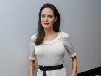 Angelina Jolie nedávno takto