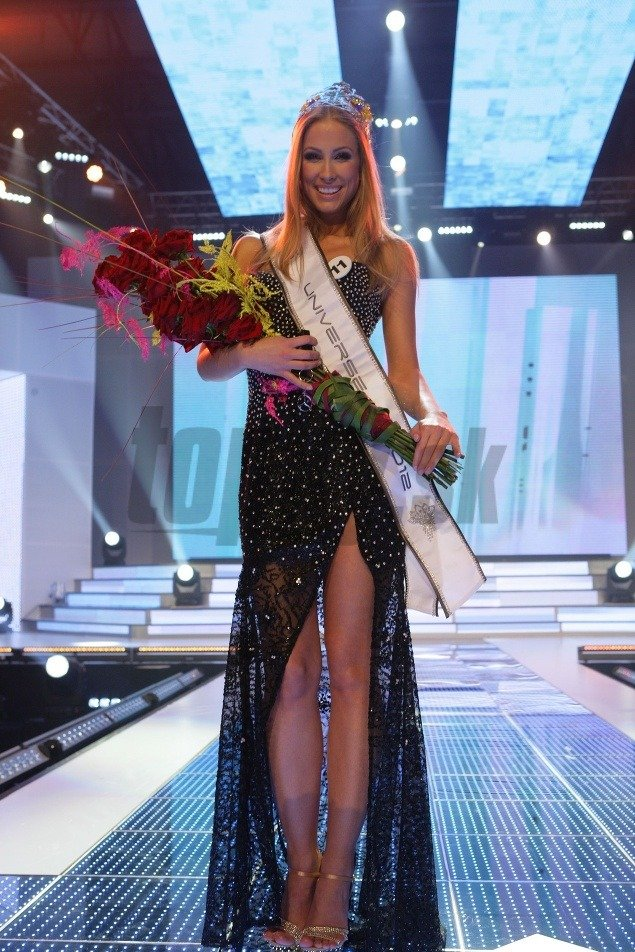 Miss Universe Slovak Republic 2012 is LUBICA STEPANOVA