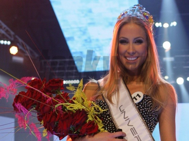 Miss Universe Slovak Republic 2012 is LUBICA STEPANOVA Lubica Stepanova