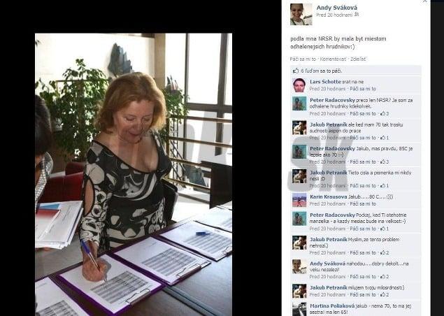 Magda Vášaryová ukázala megaprsia: