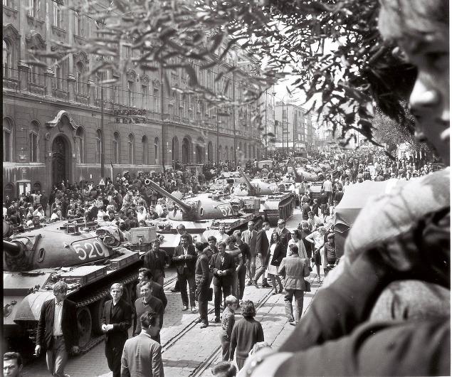 Okupácia Československa vojskami Varšavskej