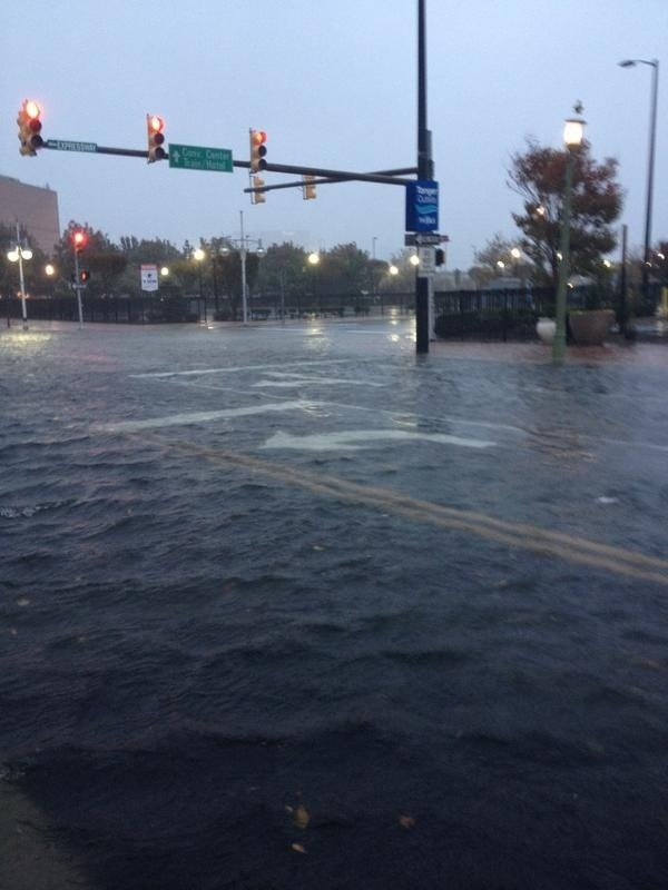 Hurikán Sandy zasiahol Atlantu
