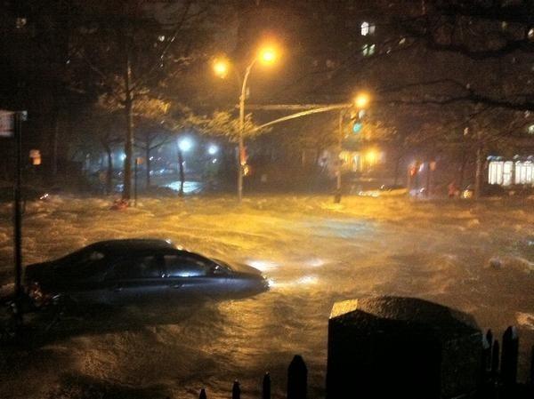 New York sa potopil