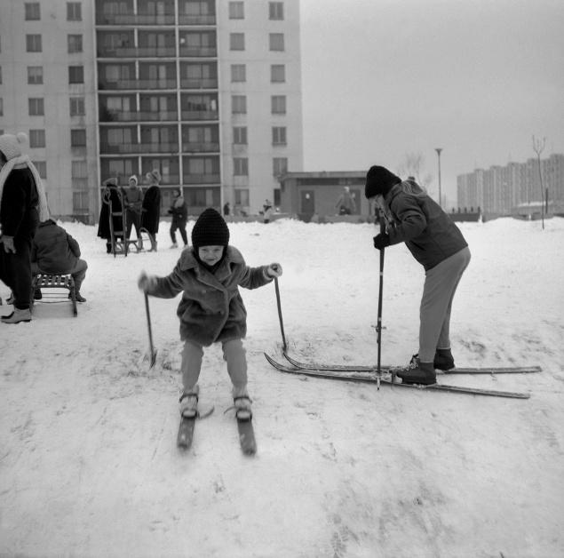 Zimné radovánky minulých generácií