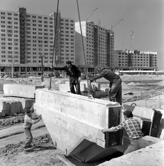 Výstavba v Petržalke v