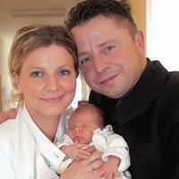 Petr Muk s manželkou a s dcérkou Noemi