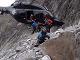 Pomoc horských záchranárov uviaznutým