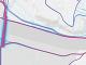 Mapa cyklotrasy medzi mostami