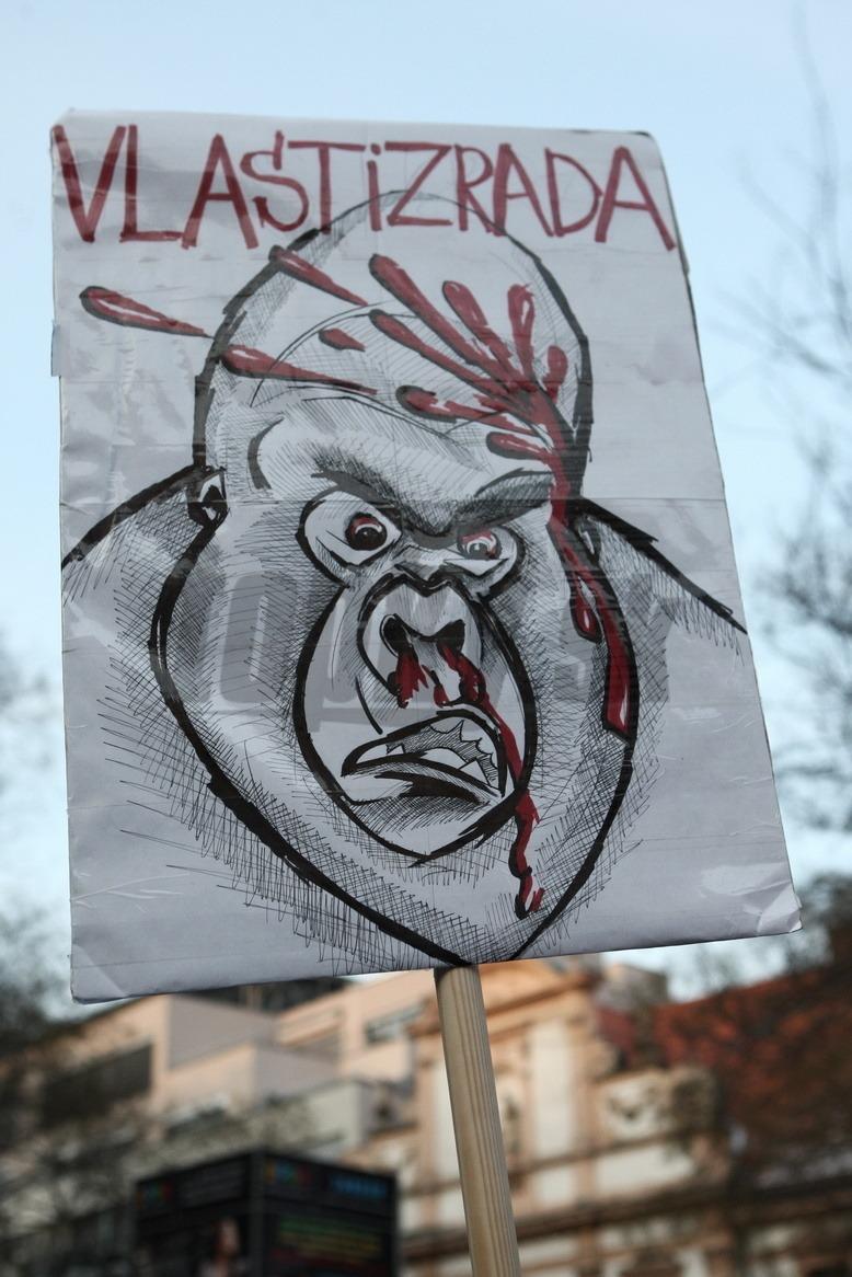 Protest Gorila 3 v