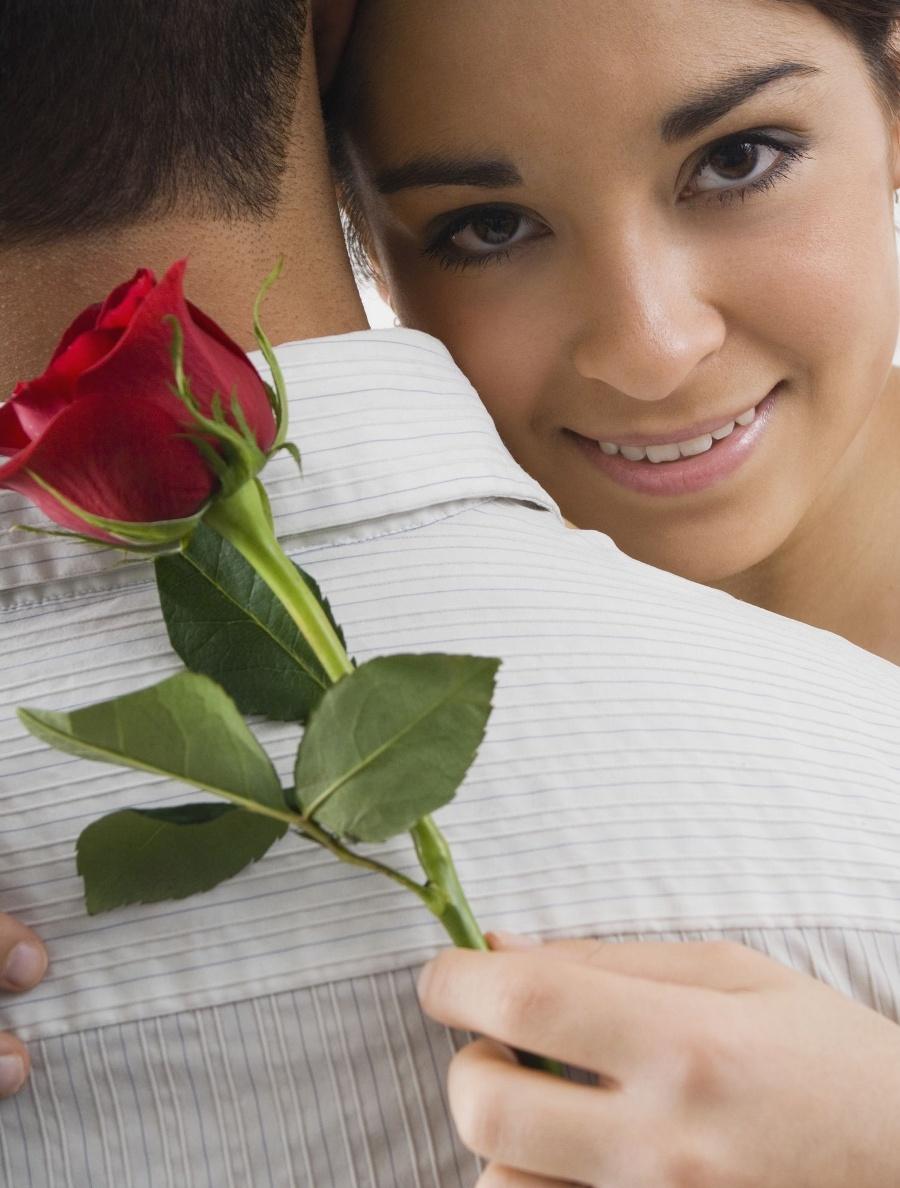 Цветы фото женщине мужчине