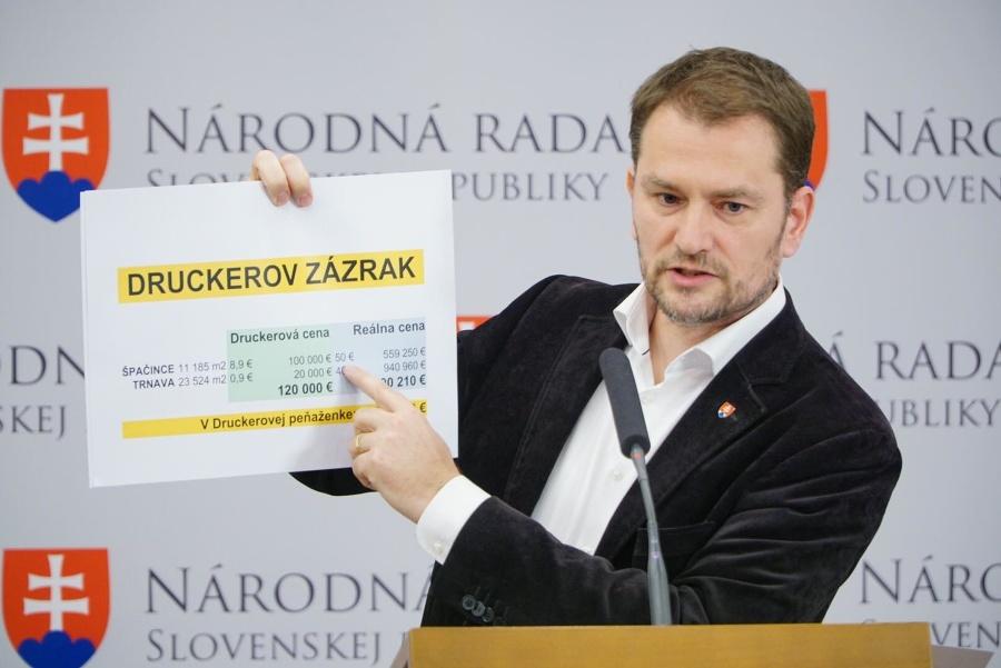 Matovič vytiahol ďalšie obvinenia na Druckera: Veľká výzva, minister klame! | Topky.sk