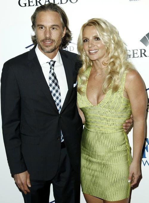 Britney Spears s priateľom