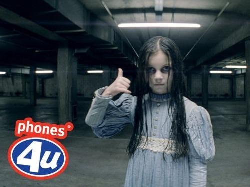 V reklame straší duch