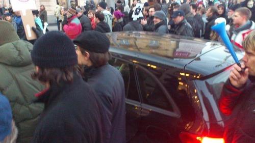 Demonštranti sa chceli dostať
