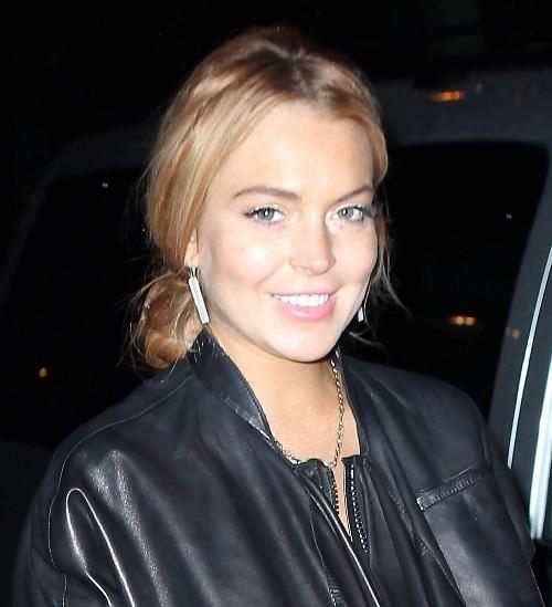 Lindsay Lohan po dlhých