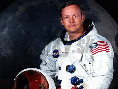 astronaut neil armstrong on uniform - photo #26