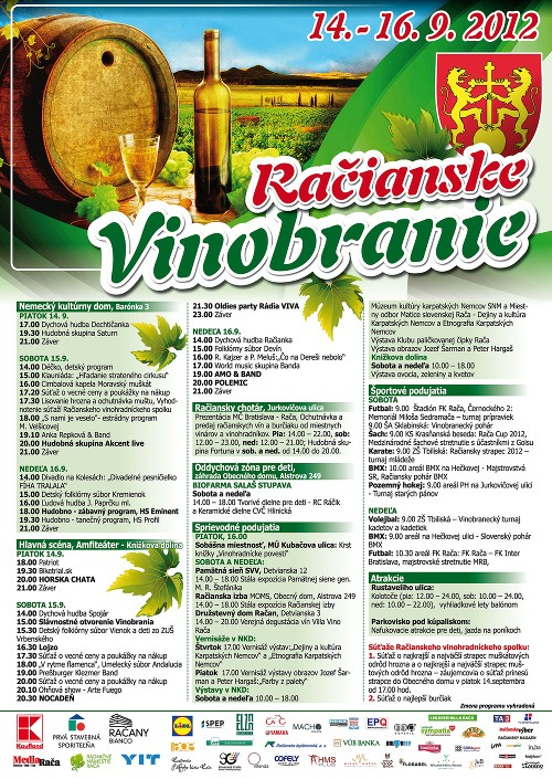 Vitajte na vinobraní v