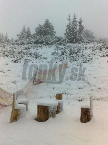 Prvý sneh v tomto