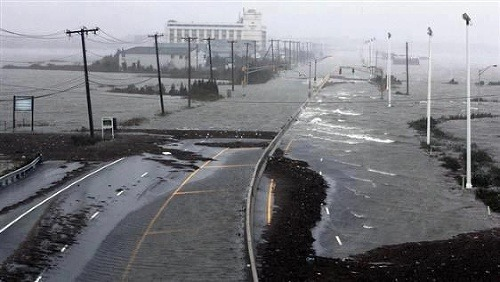 ONLINE Skaza hurikánu Sandy: