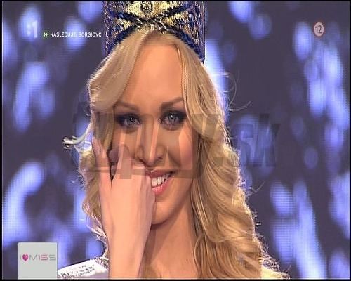 Re: MISS UNIVERSE SLOVAK REPUBLIC 2013 is JEANETTE BORHYOVA