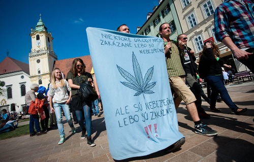 Bratislava Million Marihuana March