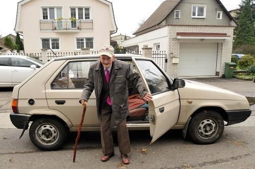 Najstarší volič mesta Nováky