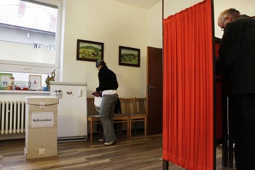 Voľby v obci Nemecká