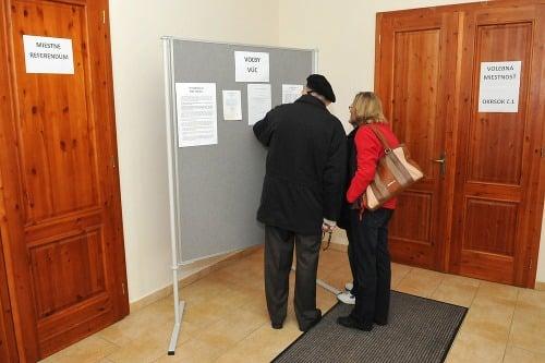 Voľby v obci Gáň