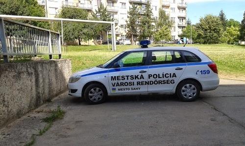 Maďarské nápisy na policajných