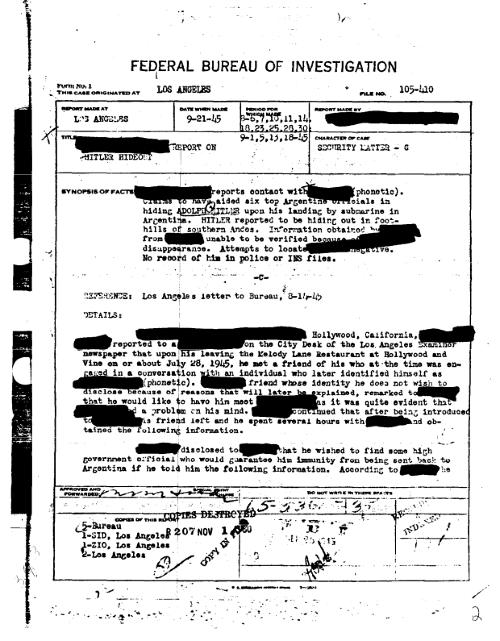 FBI zverejnila tajné dokumenty
