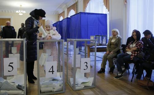 Voľby na Ukrajine sú