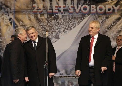 (Zľava) Nemecký prezident Joachim