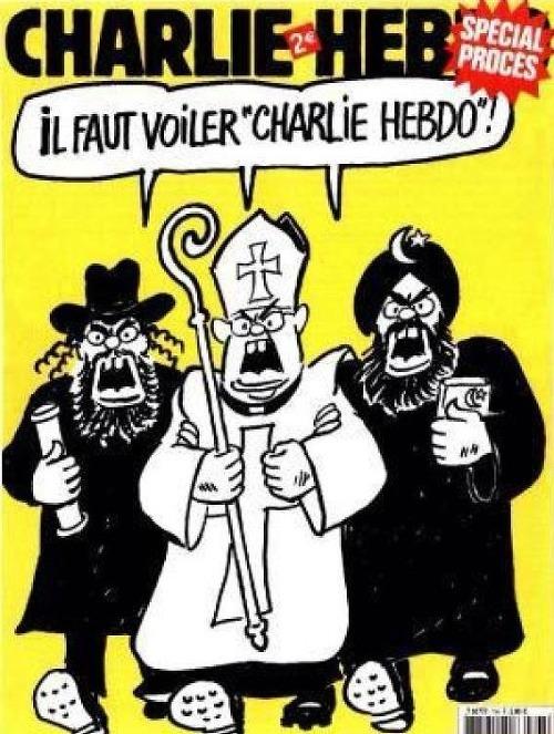Naj karikatúry charlie hebdo: kresby satirického týždenníka