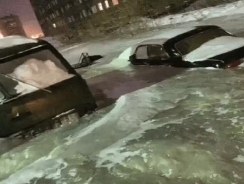 Apokalypsa ako z filmu zasiahla sibírske mesto Dudinka: FOTO v zajatí ľadu! - Topky