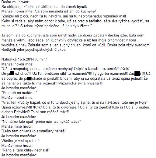 Únik prepisu nahrávky smeráka