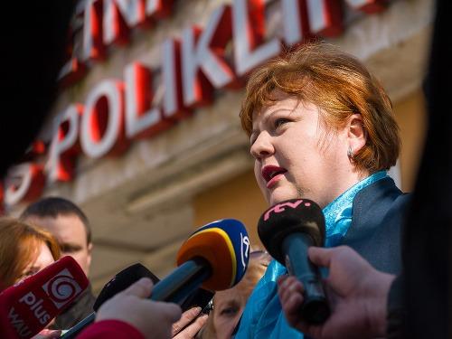 Monika Kavecká z Odborového