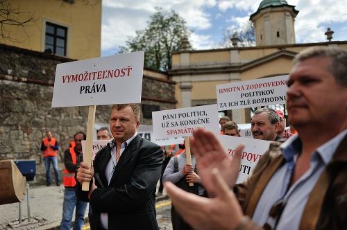 Protest živnostníkov