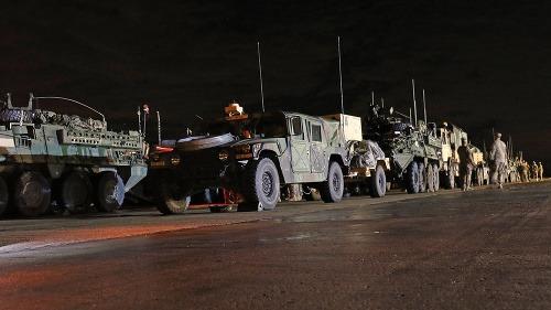 Americký konvoj na Slovensku