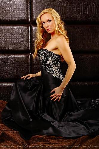 Veronika Paulovičová ako modelka v kampani proti anorexii.