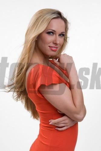 Moderátorka a herečka Veronika Paulovičová.