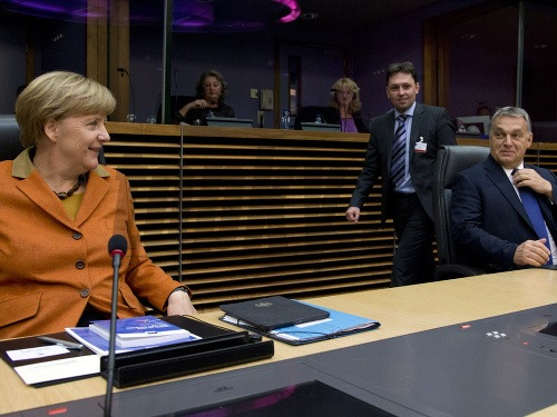 Angela Merkelová a Viktor