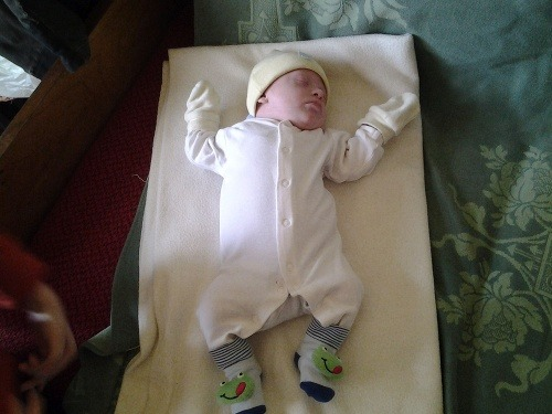 Druhorodený Samko sa narodil