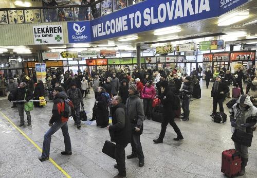 Cestovanie v slovenských vlakoch