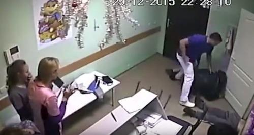 Otrasné VIDEO z nemocnice