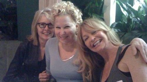 Diane Keaton, Goldie Hawn,