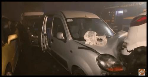 VIDEO Hromadná nehoda na