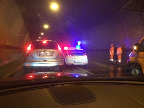 Veľká nehoda v tuneli