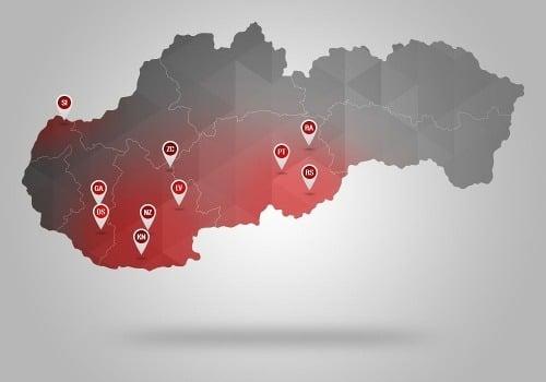Veľká mapa najhoršieho strašiaka Slovákov: V týchto okresoch na rakovinu zomierame najviac